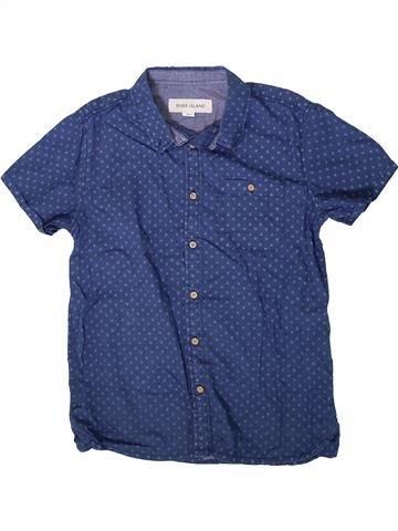 Chemise manches courtes garçon RIVER ISLAND bleu 11 ans été #1368850_1