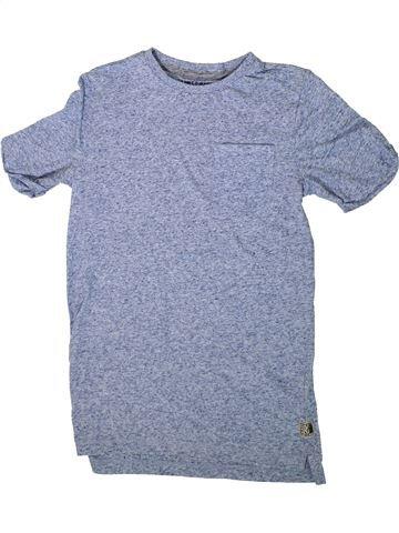 T-shirt manches courtes garçon F&F bleu 10 ans été #1368853_1