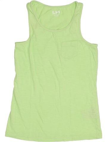 T-shirt sans manches fille LH BY LA HALLE vert 14 ans été #1368935_1
