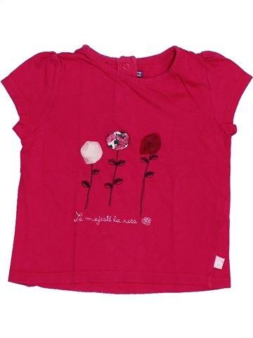 T-shirt manches courtes fille SERGENT MAJOR rouge 3 ans été #1368991_1