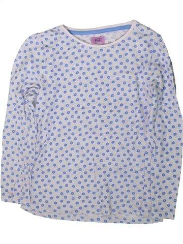 T-shirt manches longues fille F&F bleu 7 ans hiver #1369028_1