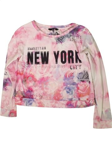 Pull fille NEW LOOK rose 14 ans hiver #1369036_1