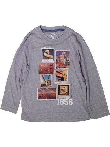 Camiseta de manga larga niño MATALAN gris 5 años invierno #1369072_1