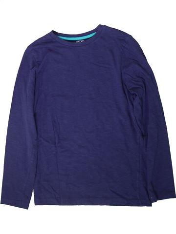 T-shirt manches longues garçon F&F bleu 12 ans hiver #1369129_1