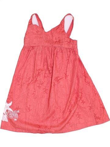 Vestido niña CAPTAIN TORTUE rosa 4 años verano #1369180_1