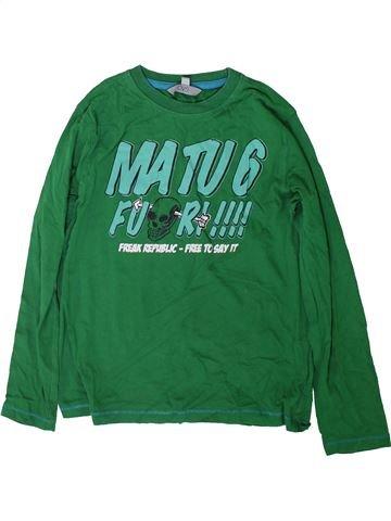 Camiseta de manga larga niño OVS verde 10 años invierno #1369300_1