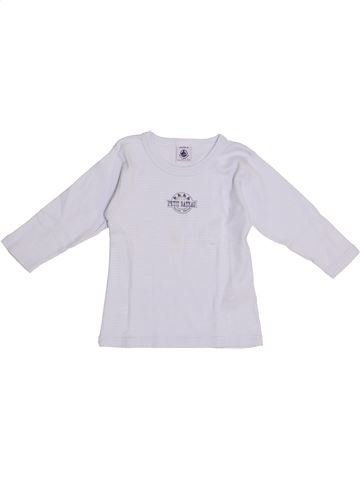 Camiseta de manga larga niño PETIT BATEAU gris 2 años invierno #1369511_1