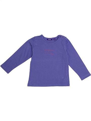 T-shirt manches longues fille MEXX violet 3 ans hiver #1369748_1
