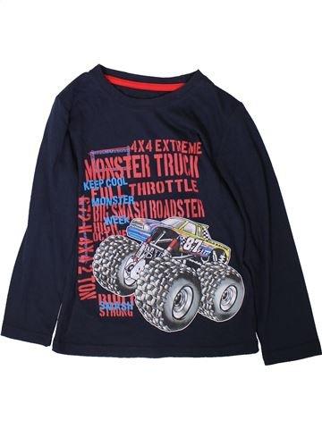 T-shirt manches longues garçon NUTMEG noir 8 ans hiver #1369868_1