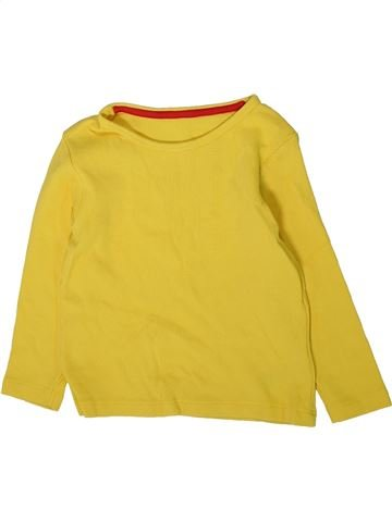 T-shirt manches longues garçon MARKS & SPENCER jaune 2 ans hiver #1369874_1