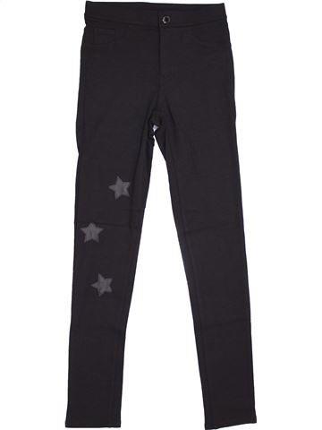 Pantalon fille H&M bleu foncé 12 ans hiver #1369993_1