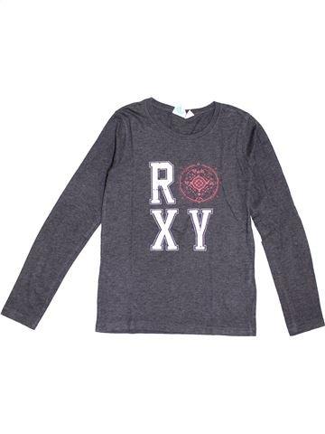 T-shirt manches longues fille ROXY bleu 12 ans hiver #1370008_1