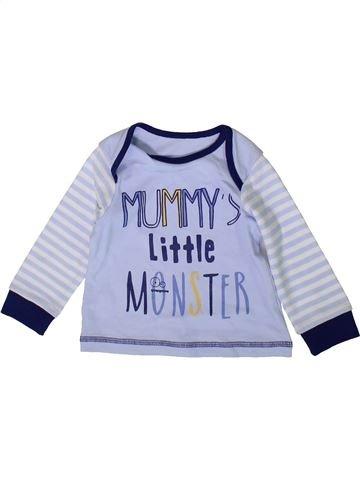T-shirt manches longues garçon MATALAN gris 9 mois hiver #1370106_1