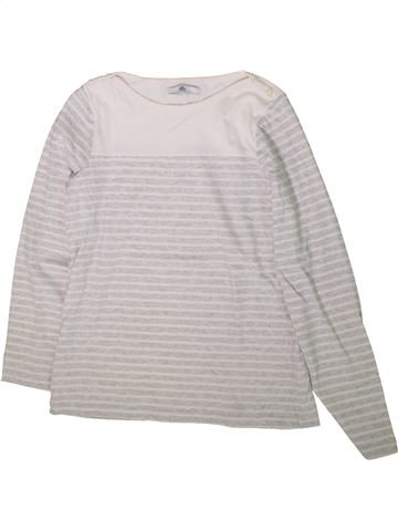 T-shirt manches longues fille MARKS & SPENCER blanc 14 ans hiver #1370117_1