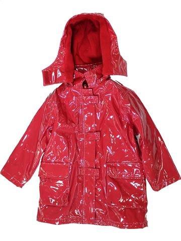 Manteau fille LISA ROSE rouge 5 ans hiver #1370200_1