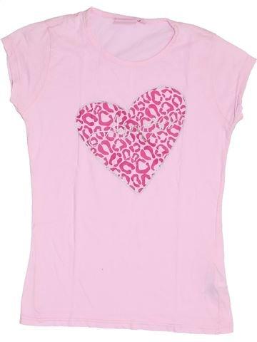 T-shirt manches courtes fille AIRNESS rose 14 ans été #1370249_1