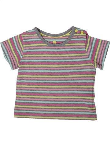 T-shirt manches courtes fille LUPILU violet 2 ans été #1370267_1