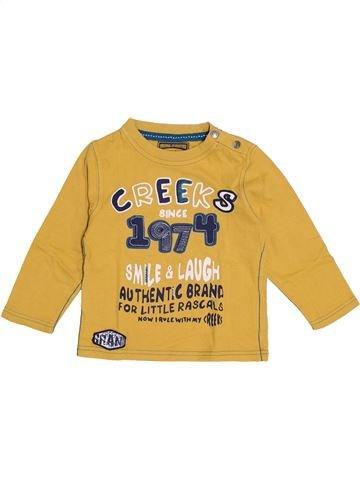 Camiseta de manga larga niño CREEKS amarillo 2 años invierno #1370414_1