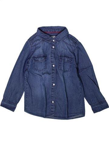 Blusa de manga larga niña DPAM azul 4 años invierno #1370465_1