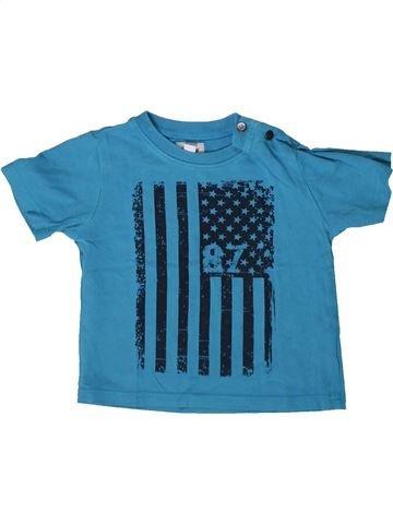 T-shirt manches courtes garçon MARÈSE bleu 9 mois été #1370532_1