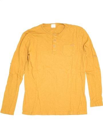 T-shirt manches longues garçon ZARA jaune 14 ans hiver #1370569_1