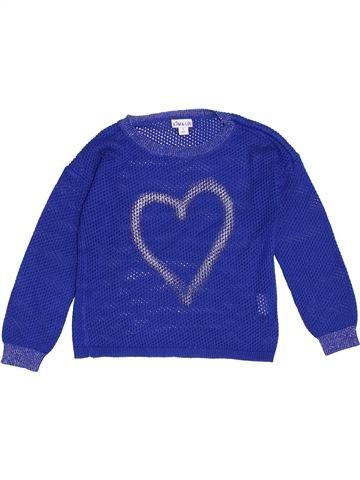 Pull fille KIM & LOU bleu 3 ans hiver #1370613_1