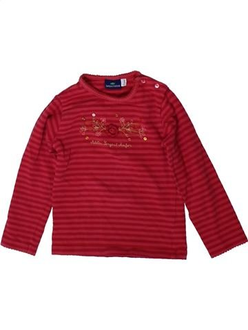 T-shirt manches longues fille SERGENT MAJOR rouge 2 ans hiver #1370756_1