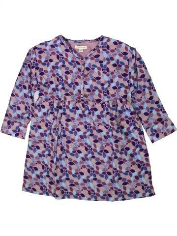 Robe fille VERTBAUDET violet 5 ans hiver #1370767_1