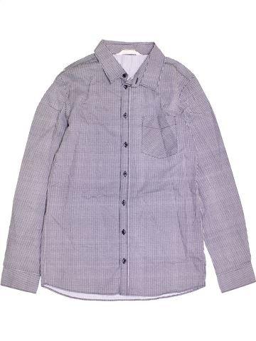 Chemise manches longues garçon H&M bleu 14 ans hiver #1370965_1