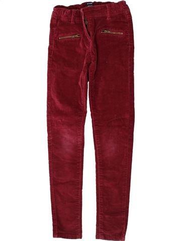Pantalon fille KIABI rouge 8 ans hiver #1370970_1
