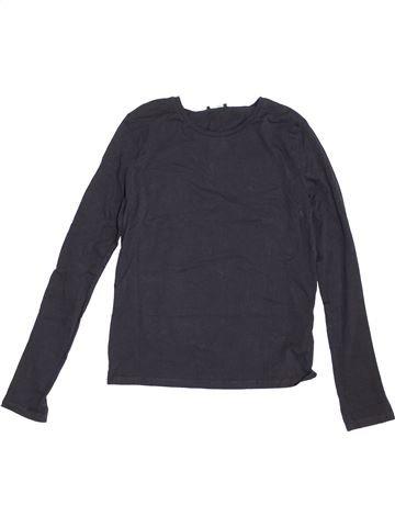 T-shirt manches longues fille KYLIE bleu 13 ans hiver #1371003_1