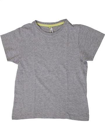 T-shirt manches courtes fille ORCHESTRA gris 8 ans été #1371007_1