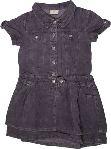 Robe fille DPAM gris 6 ans hiver #1371058_1