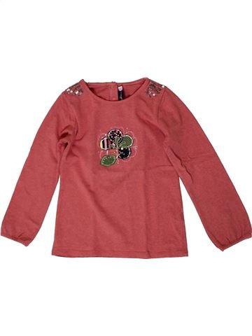 T-shirt manches longues fille SERGENT MAJOR rouge 6 ans hiver #1371064_1