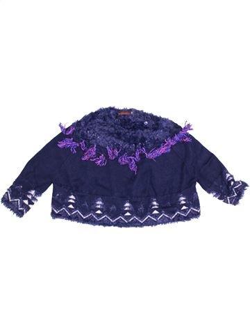 Pull fille CATIMINI bleu 6 ans hiver #1371074_1