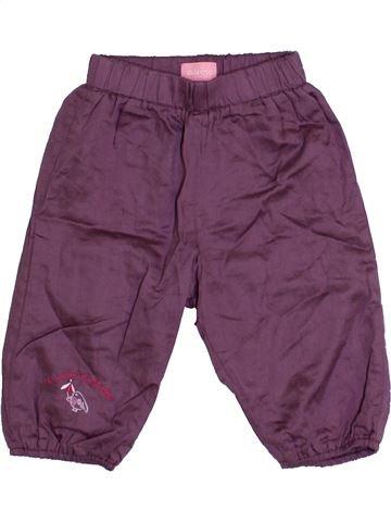 Pantalon fille MARÈSE violet 6 mois hiver #1371075_1
