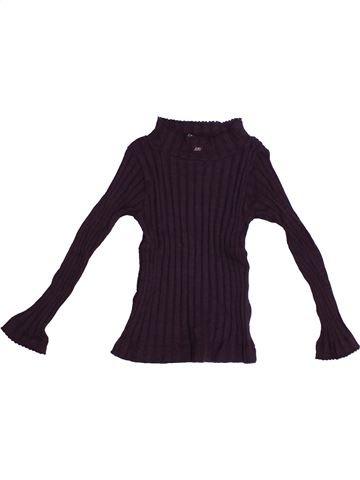 T-shirt manches longues fille LILI GAUFRETTE marron 2 ans hiver #1371127_1