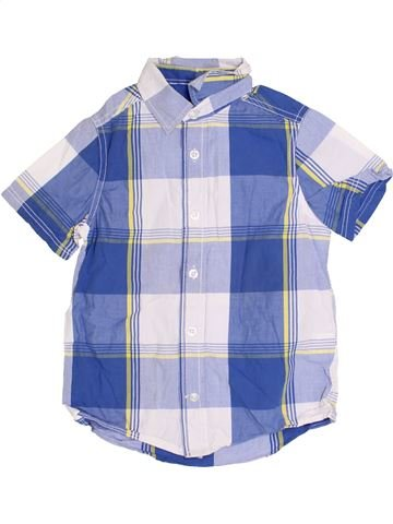 Chemise manches courtes garçon TOM TAILOR blanc 5 ans été #1371230_1