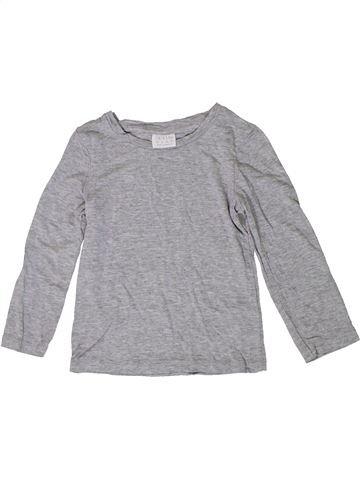 T-shirt manches longues garçon F&F gris 3 ans hiver #1371253_1