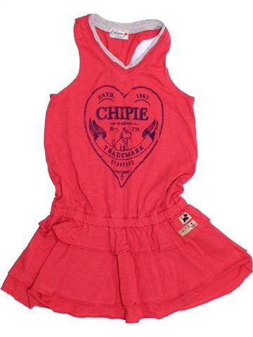 Robe fille CHIPIE rouge 5 ans été #1371298_1