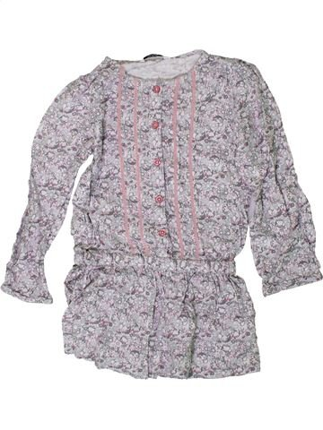 Robe fille GEORGE gris 6 ans hiver #1371307_1