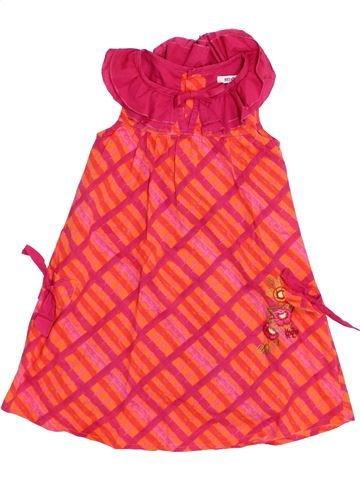 Robe fille KENZO rouge 4 ans été #1371332_1