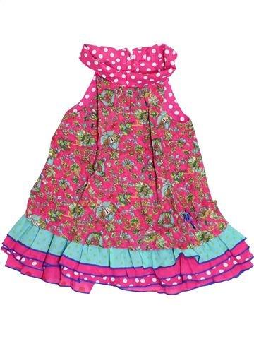 Robe fille MARÈSE rose 2 ans été #1371335_1
