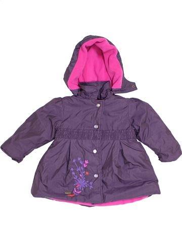 Manteau fille MARÈSE violet 12 mois hiver #1371337_1