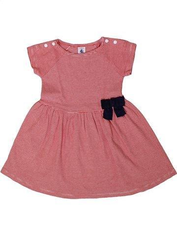 Vestido niña PETIT BATEAU rosa 2 años verano #1371405_1