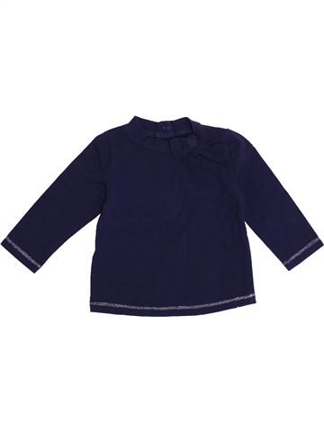 Camiseta de manga larga niña WEEK END A LA MER azul 6 meses invierno #1371432_1