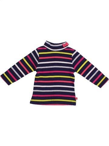 Camiseta de manga larga niña WEEK END A LA MER violeta 6 meses invierno #1371447_1