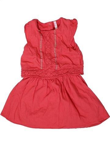 Vestido niña GEMO rosa 2 años verano #1371490_1