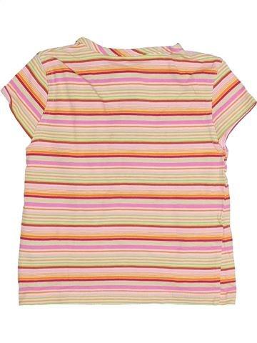 T-shirt manches courtes fille SANS MARQUE beige 3 ans été #1371499_1