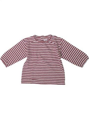 Camiseta de manga larga niña SUCRE D'ORGE rosa 9 meses invierno #1371617_1